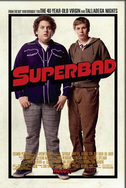 Superbad (2007) - Movie Poster