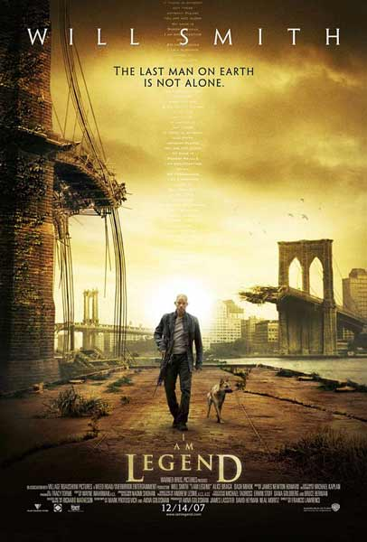 I Am Legend (2007) - Movie Poster