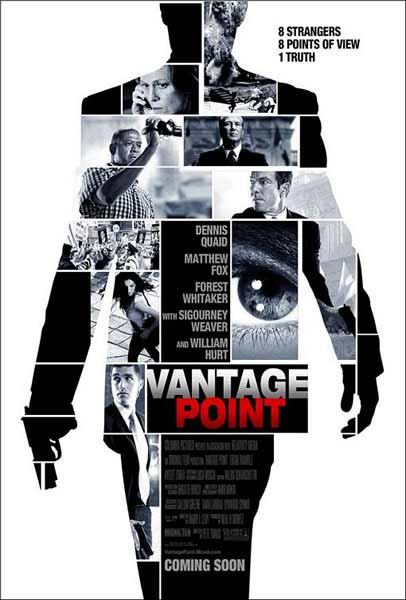 Vantage Point (2008) - Movie Poster