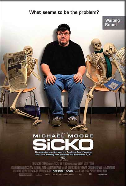 Sicko (2007) - Movie Poster