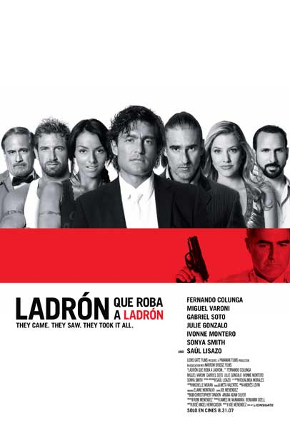 Ladron que roba a ladron (2007) - Movie Poster