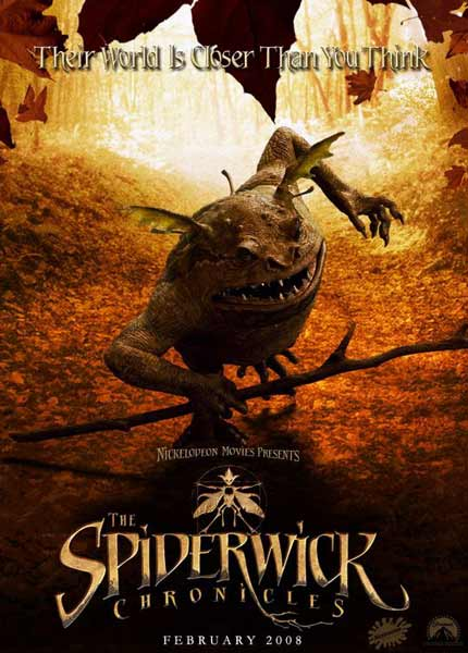 Spiderwick Chronicles, The (2008) - Movie Poster