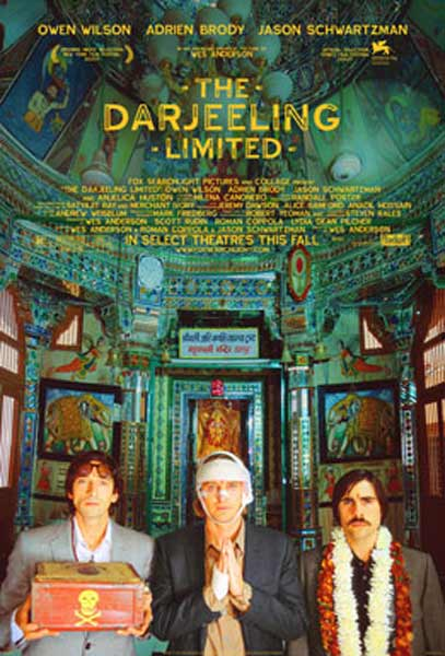 The Darjeeling Limited (2007) - Movie Poster