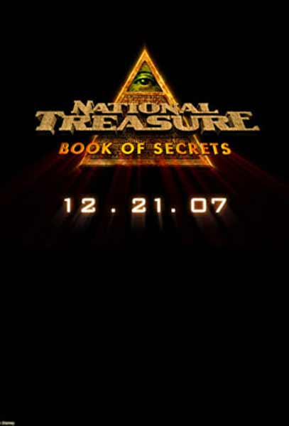 National Treasure: Book of Secrets (2007) - Movie Poster