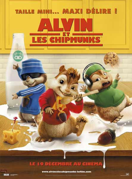 Alvin and the Chipmunks (2007) - Movie Poster