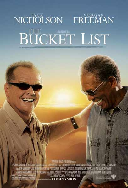 Bucket List, The (2008) - Movie Poster