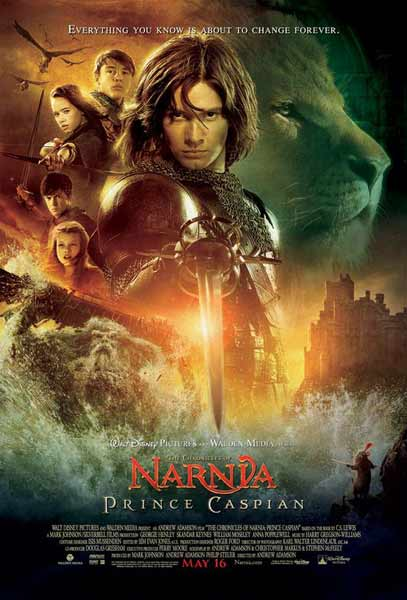 Chronicles of Narnia: Prince Caspian, The (2008) - Movie Poster