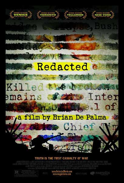 Redacted (2007) - Movie Poster