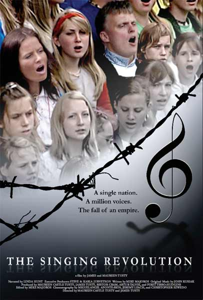 The Singing Revolution (2006) - Movie Poster