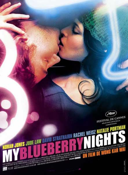 My Blueberry Nights (2007) - Movie Poster