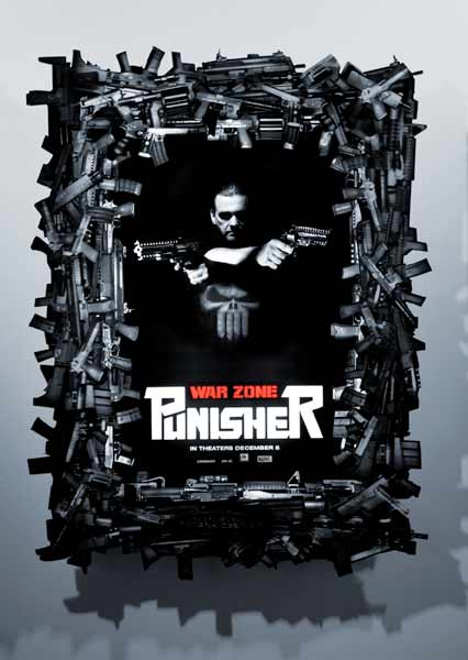 Punisher: War Zone (2008) - Movie Poster