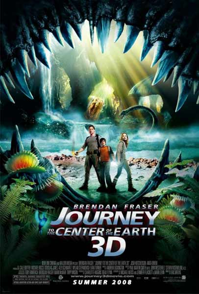Journey to the Center of the Earth 3D (2008) - Movie Poster