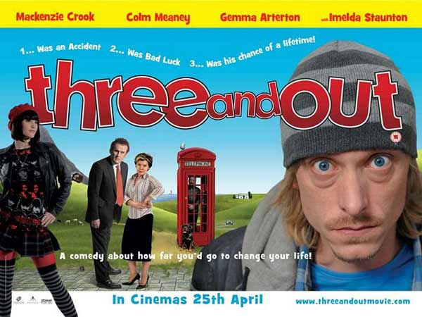 Three and Out (2008) - Movie Poster