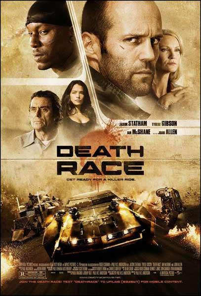 Death Race (2008) - Movie Poster