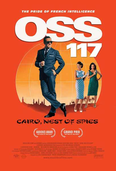 OSS 117: Cairo, Nest of Spies (2006) - Movie Poster