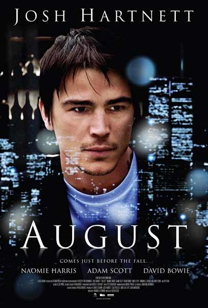 August (2008) - Movie Poster