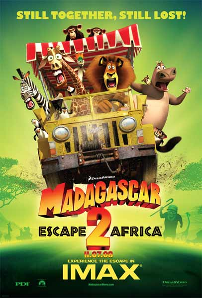 Madagascar: Escape 2 Africa (2008) - Movie Poster