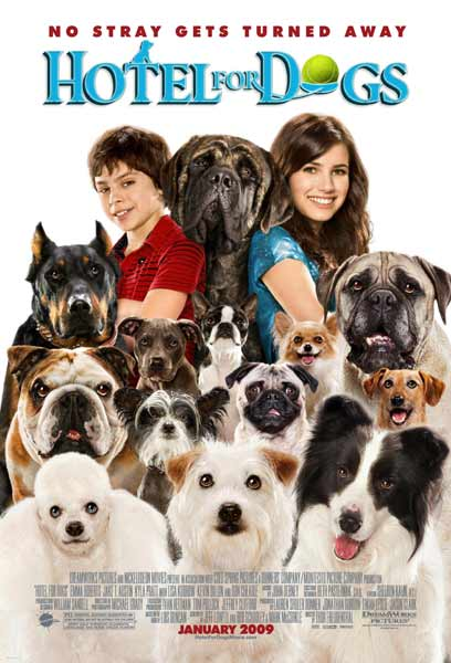 Hotel for Dogs (2009) - Movie Poster