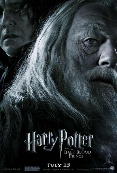 Harry Potter and the Half-Blood Prince (2009) - Movie Poster