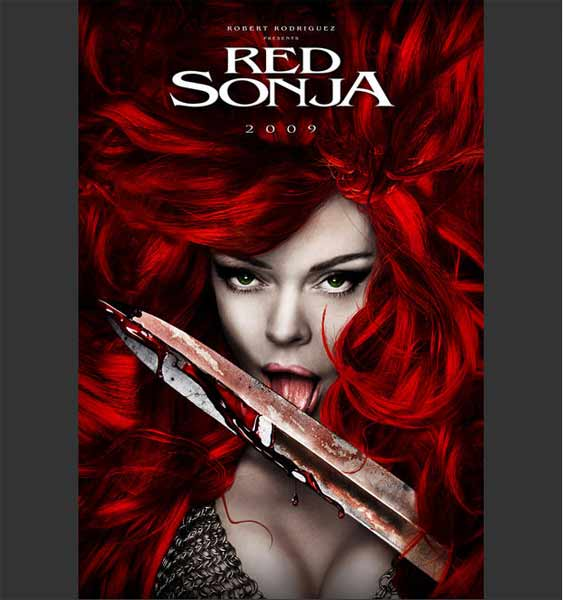 Red Sonja (2010) - Movie Poster