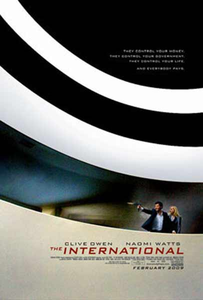 International, The (2009) - Movie Poster