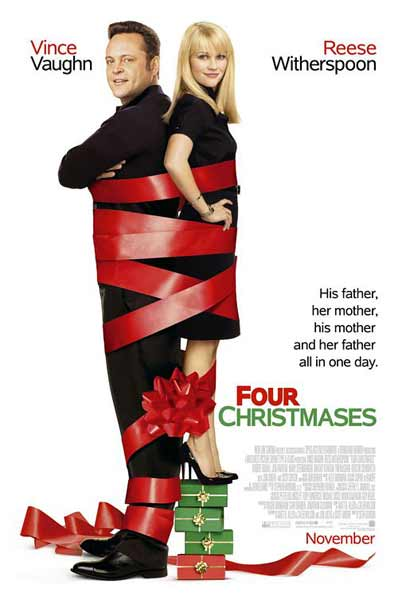 Four Christmases (2008) - Movie Poster