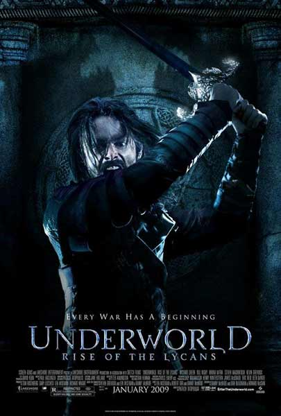 Underworld: Rise of the Lycans (2009) - Movie Poster