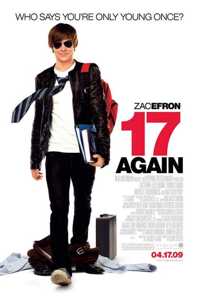 17 Again (2009) - Movie Poster