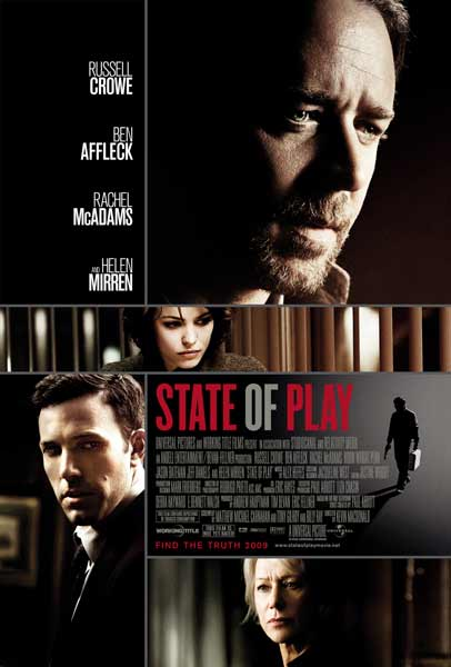 State of Play (2009) - Movie Poster