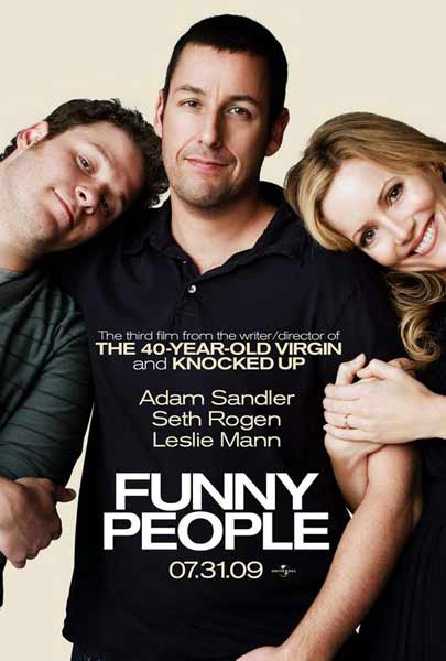 Funny People (2009)  - Movie Poster