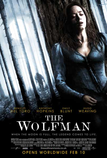 Wolfman, The (2010) - Movie Poster