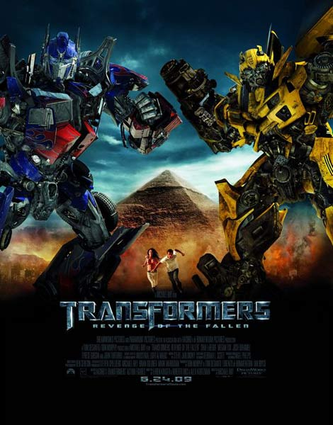 Transformers: Revenge of the Fallen (2009) - Movie Poster