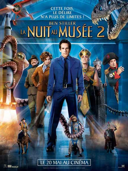 Night at the Museum: Battle of the Smithsonian (2009) - Movie Poster