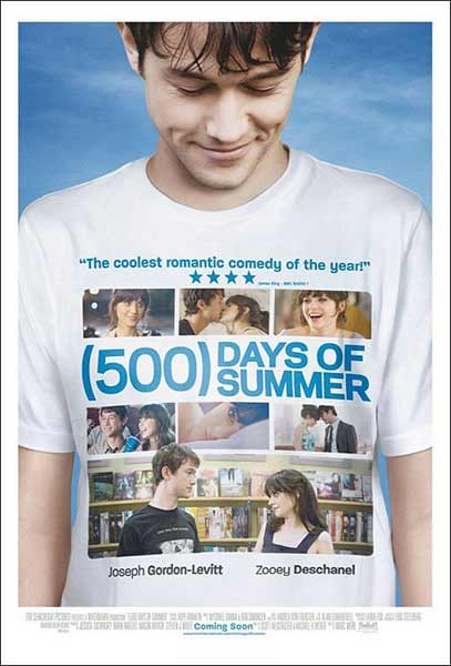 (500) Days of Summer (2009) - Movie Poster