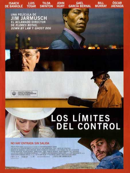 Limits of Control, The (2009) - Movie Poster