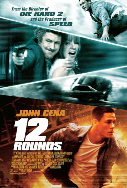 12 Rounds (2009) - Movie Poster