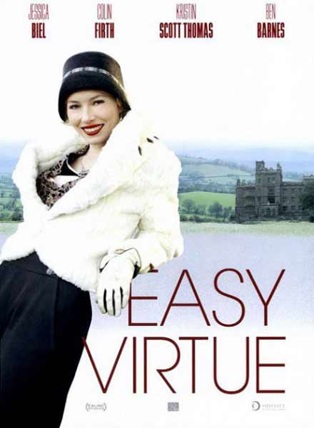 Easy Virtue (2008) - Movie Poster