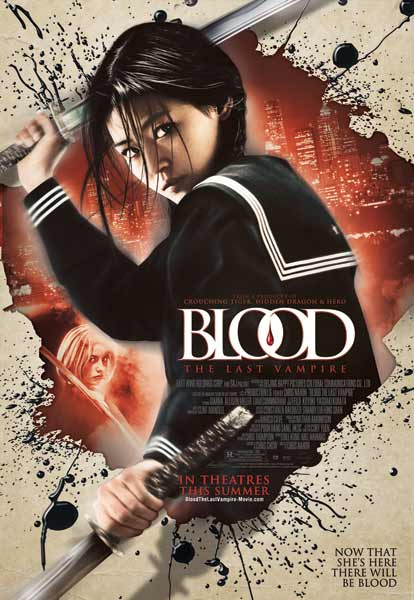 Blood: The Last Vampire (2009) - Movie Poster