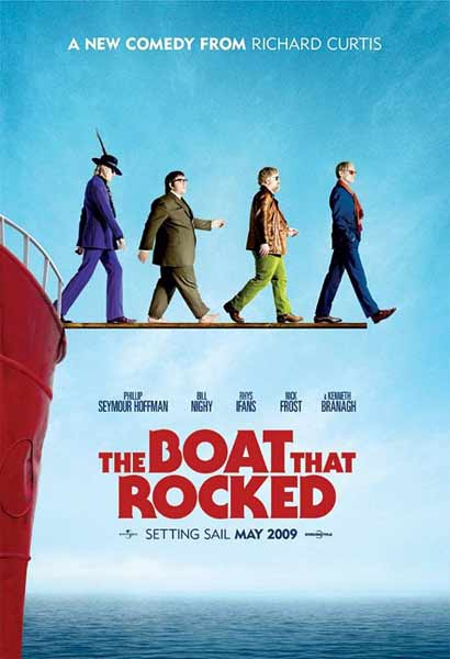 The Boat That Rocked (2009) - Movie Poster