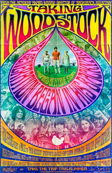 Taking Woodstock (2009) - Movie Poster