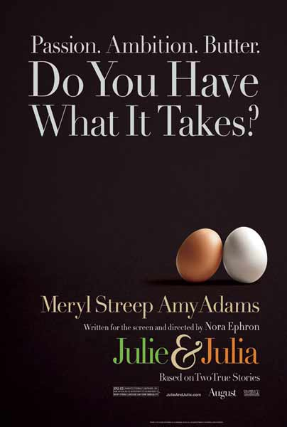 Julie & Julia (2009) - Movie Poster