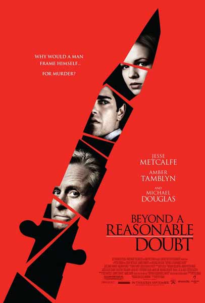 Beyond a Reasonable Doubt (2009) - Movie Poster
