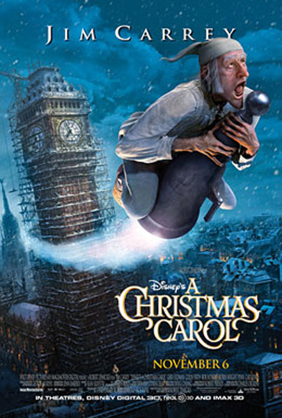 A Christmas Carol (2009) - Movie Poster