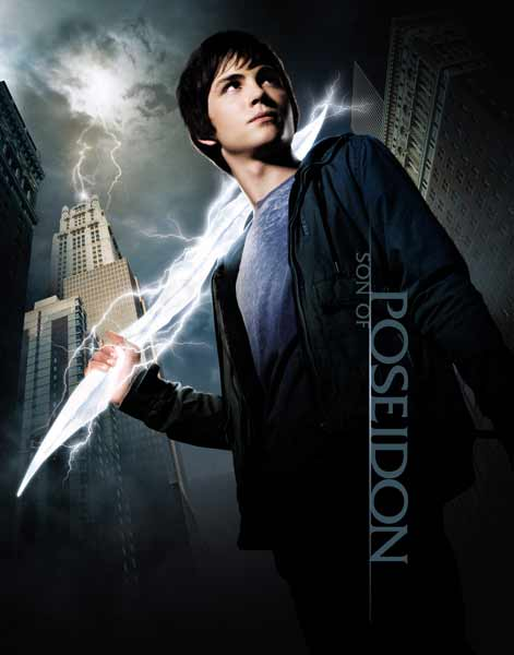 Percy Jackson & the Olympians: The Lightning Thief (2010) - Movie Poster