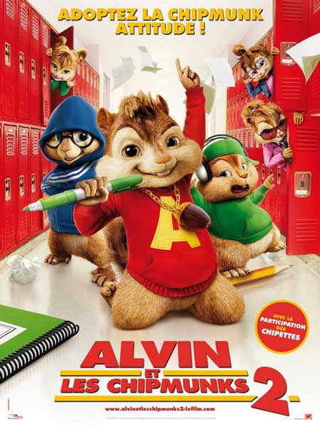 Alvin and the Chipmunks: The Squeakquel (2009) - Movie Poster