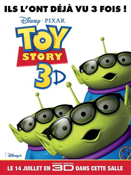 Toy Story 3 (2010) - Movie Poster