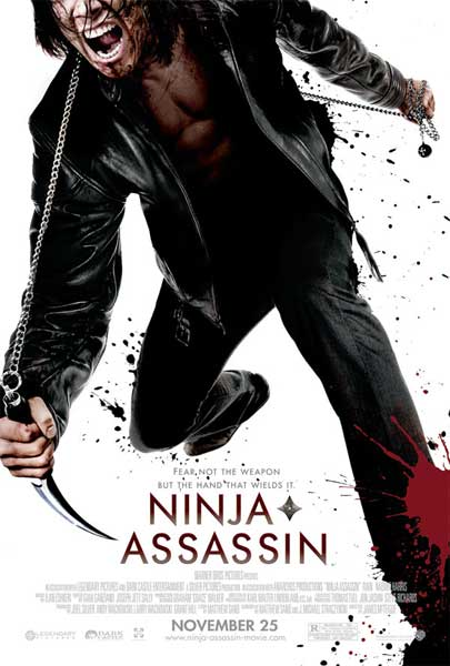 Ninja Assassin (2009) - Movie Poster