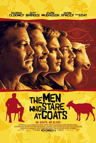 Men Who Stare at Goats, The (2009) - Movie Poster