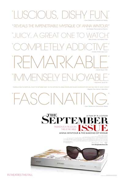 The September Issue (2009) - Movie Poster