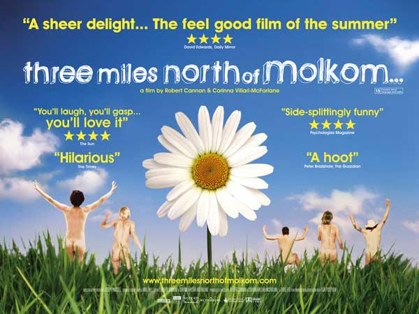 Three Miles North of Molkom (2008) - Movie Poster